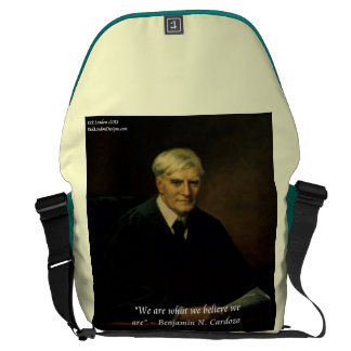 """Benjamin Cardozo """"Who We Are"""" Messenger Bag Courier Bags"""