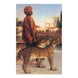 Benjamin Constant Palace Guard with Two Leopards 4 Flyer