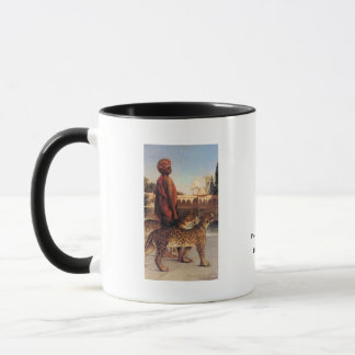 Benjamin Constant Palace Guard with Two Leopards 4 Mug
