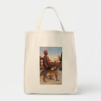 Benjamin Constant Palace Guard with Two Leopards 4 Tote Bag
