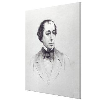 Benjamin Disraeli, 1r conde Beaconsfield Impresión En Lienzo