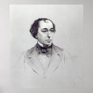 Benjamin Disraeli, 1st Earl Beaconsfield Poster