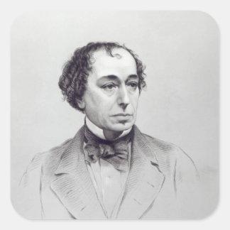 Benjamin Disraeli, 1st Earl Beaconsfield Square Sticker