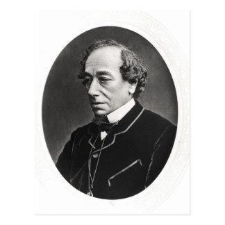 Benjamin Disraeli  c.1874 Postcard