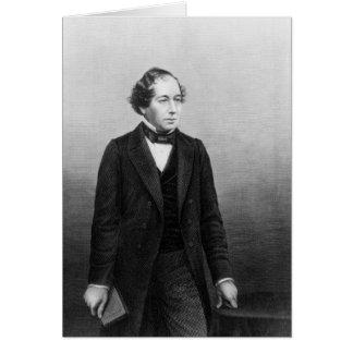 Benjamin Disraeli Card