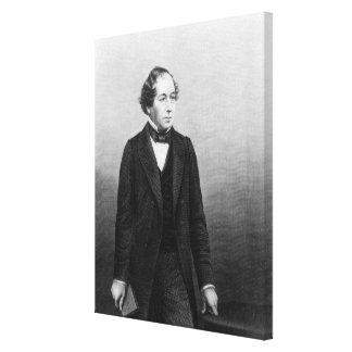 Benjamin Disraeli Lona Envuelta Para Galerias