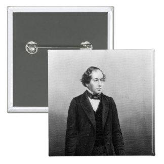 Benjamin Disraeli Pinback Button