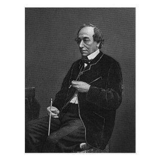 Benjamin Disraeli Postcard