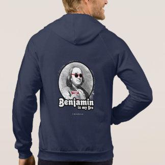 Benjamin es mi Bro Sudadera Con Capucha
