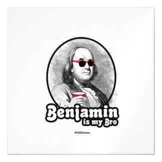 Benjamin es mi Bro