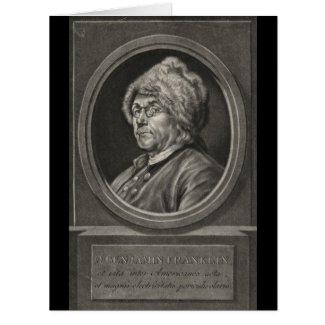 Benjamin Franklin 1780 Card