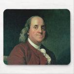 Benjamin Franklin, 1782 Alfombrillas De Ratón