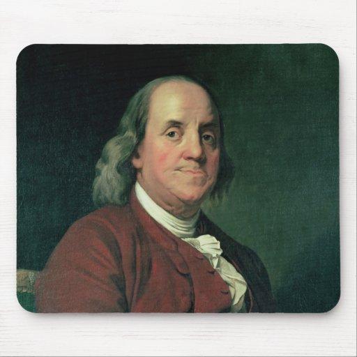 Benjamin Franklin, 1782 Mouse Pad