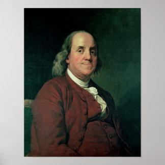Benjamin Franklin, 1782 Póster