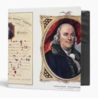 """Benjamin Franklin 1847 Carpeta 1 1/2"""""""