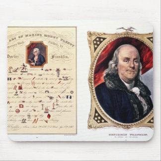 Benjamin Franklin  1847 Mousepads