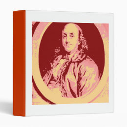 Benjamin Franklin 3 Ring Binder