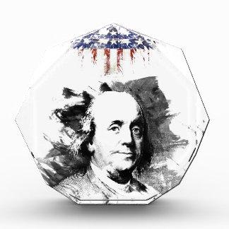 Benjamin Franklin Acrylic Award