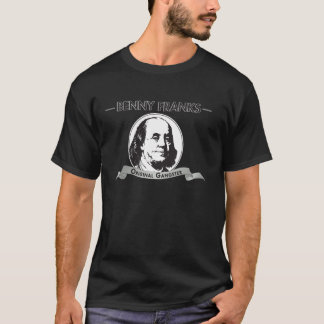 "Benjamin Franklin ""Benny Franks Original Gangster"" T-Shirt"