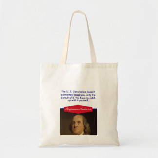 Benjamin Franklin Budget Tote