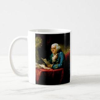 Benjamin Franklin by David Martin Coffee Mug