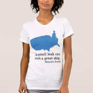 Benjamin Franklin Camisetas