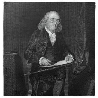 Benjamin Franklin Cloth Napkin