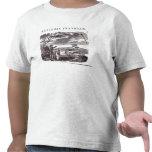Benjamin Franklin conduce su experimento de la Camiseta