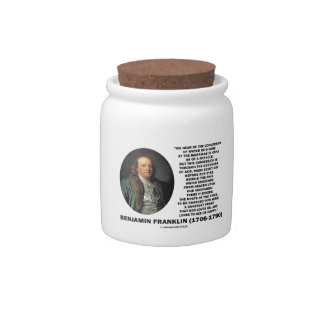 Benjamin Franklin Conversion Of Water Into Wine Candy Dishes
