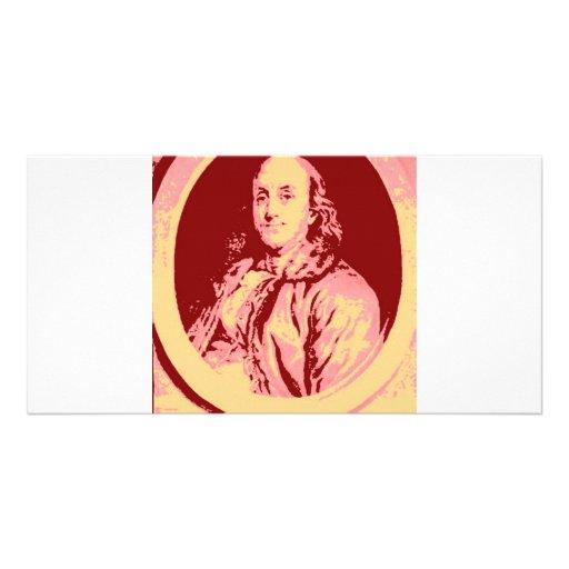Benjamin Franklin Custom Photo Card