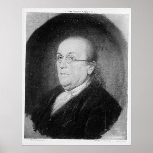 BENJAMIN FRANKLIN de Charles Willson Peale Poster