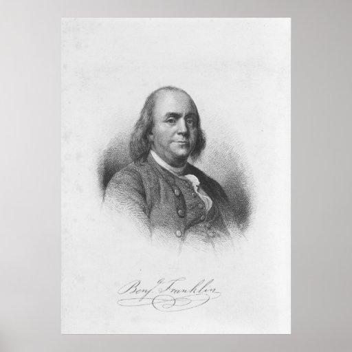 BENJAMIN FRANKLIN de Henry Bryan Pasillo Impresiones