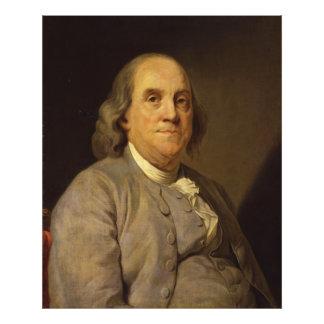Benjamin Franklin de José Siffred Duplessis Fotografía