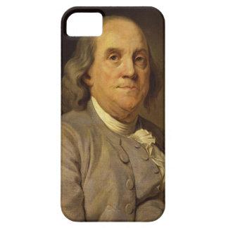 Benjamin Franklin de José Siffred Duplessis iPhone 5 Fundas