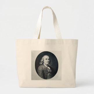 Benjamin Franklin - diapositiva de linterna mágica Bolsa De Mano