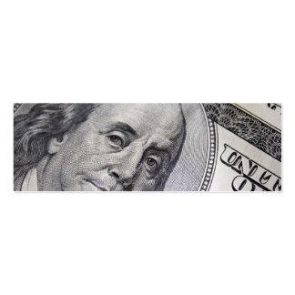 Benjamin Franklin Face Business Cards