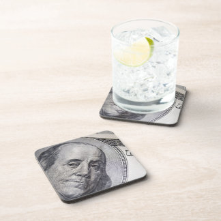 Benjamin Franklin Face Coaster