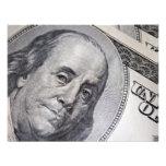 Benjamin Franklin Face Custom Invite