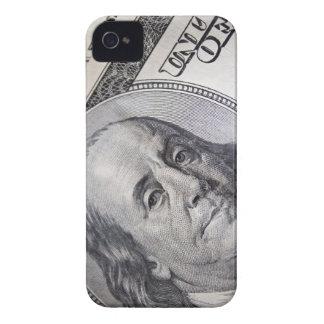 Benjamin Franklin Face iPhone 4 Cover
