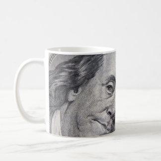 Benjamin Franklin Face Mug