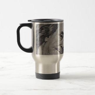 Benjamin Franklin Face Coffee Mug