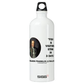 Benjamin Franklin Fish & Visitors Stink In 3 Days SIGG Traveler 1.0L Water Bottle