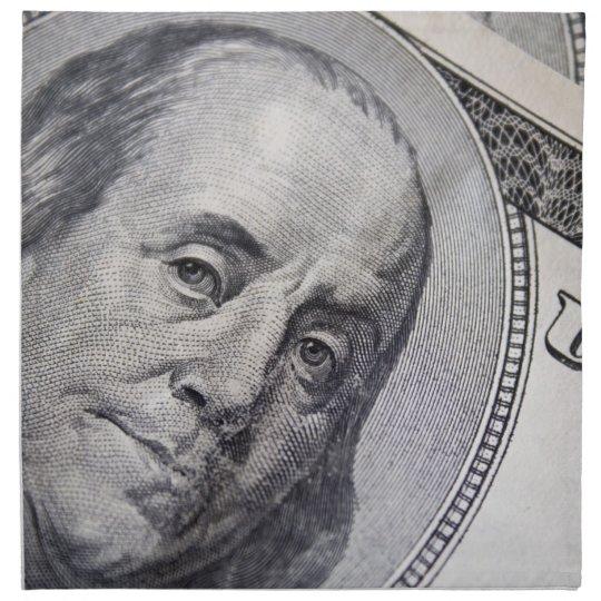 Benjamin Franklin hace frente Servilletas