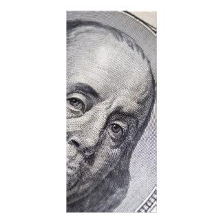 Benjamin Franklin hace frente Lona Publicitaria