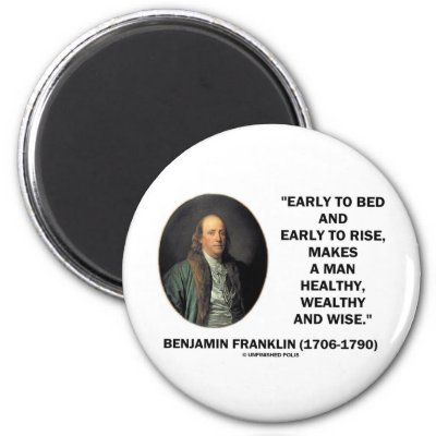 thesis statement for benjamin franklin autobiography