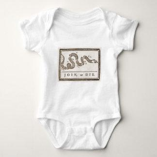 Benjamin_Franklin_-_Join_or_Diejpg Baby Bodysuit