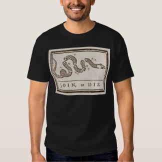 Benjamin_Franklin_-_Join_or_Diejpg T Shirt