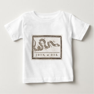 Benjamin_Franklin_-_Join_or_Diejpg T-shirts