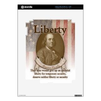 Benjamin Franklin – Liberty Skin For The iPad 2