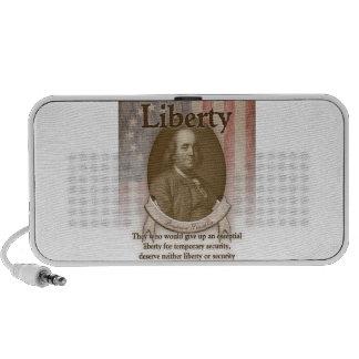 Benjamin Franklin – Liberty Travel Speakers